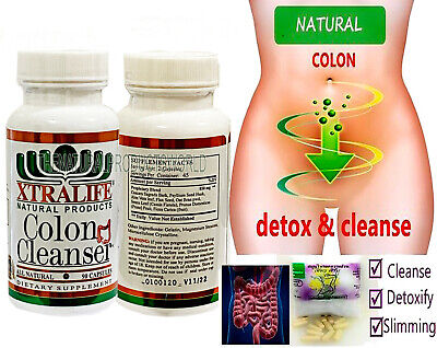 Pure Colon Cleanser for Detox & Weight Loss Natural Effectiv