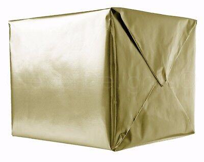 "Metallic Gold Wrapping Paper - 30"" x 300"" JUMBO Roll - 62.5 Sq Ft - Shiny Wrap"