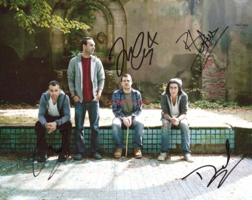 "Brand New band Reprint Signed 11x14"" Poster #1 RP ALL 4 Members Autographed"