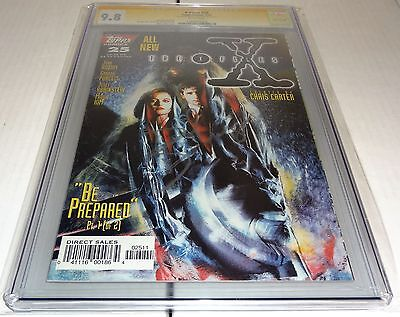 X-Files #25 CGC SS 9.8 Signature Autograph DAVID DUCHOVNY Signed Topps Comics 🔥