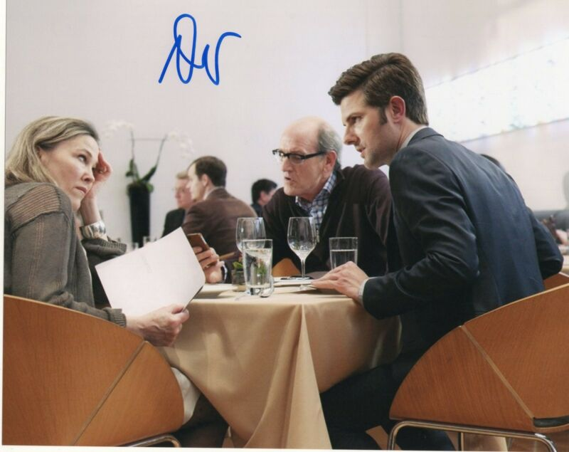 Adam Scott Parks and Recreation Step Brothers Signed 8x10 Photo w/COA #4