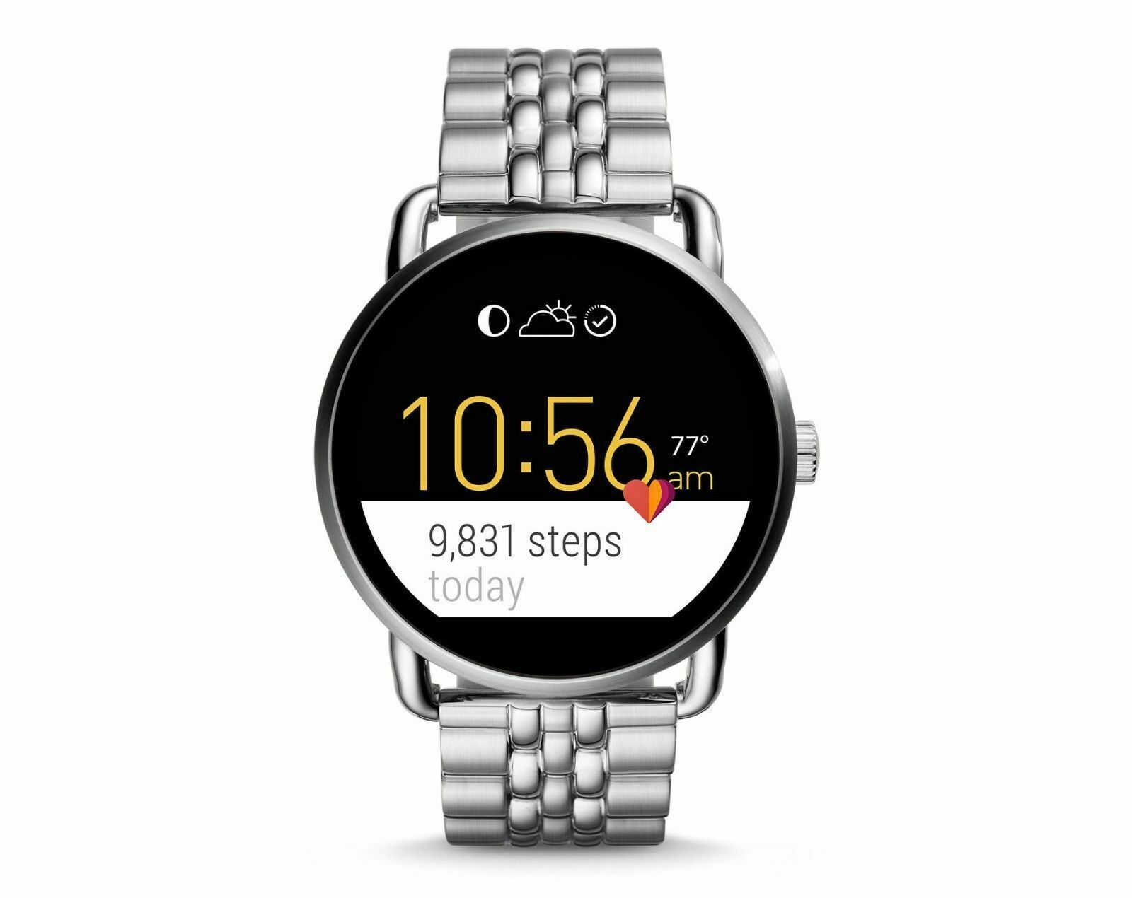 Fossil® Q Wander Touchscreen With Link Bracelet Smart Wa