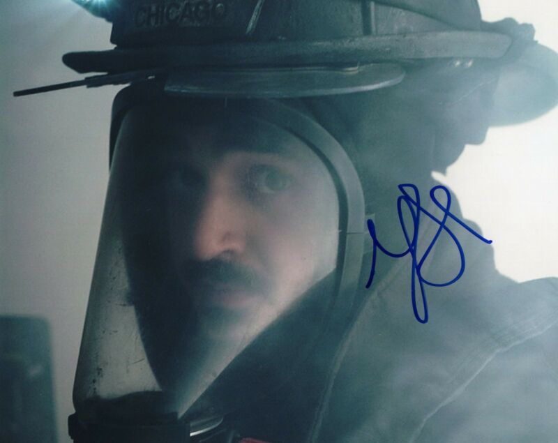 Yuri Sardarov signed 8x10 Photo w/COA Chicago Fire Med P.D. Brian Svonecek #1