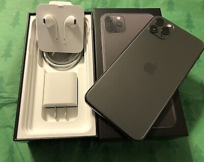 Apple iPhone 11 Pro Max 512GB Space Gry Unlocked A2161 APPLE CARE 9/22! Used 2mo