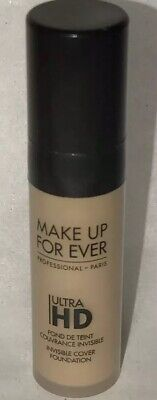 MAKE UP FOR EVER Ultra HD Invisible Cover Foundation Y335 Sample 0.16 oz Travel