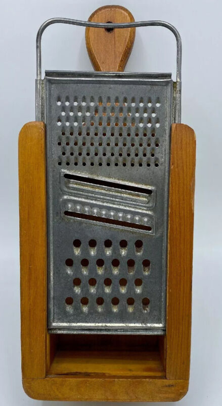 Vintage Granpa's Craft Cheese Grater by B. Hackleman