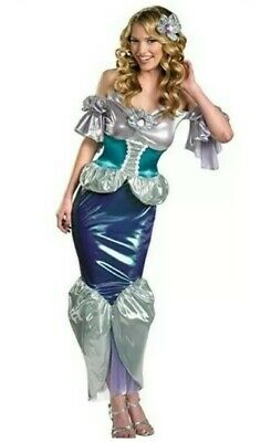 Ariel Womens Large 12-14 Costume The Little Mermaid Disney Adult Sexy Princess  - Adult Princess Ariel Costume