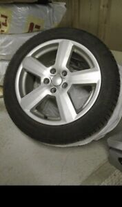 Audi A4 Winter Wheel and Tire Package 2013-2016 Model Years