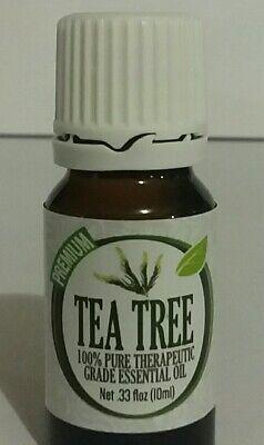 Healing Solutions Therapeutic Essential Oil Tea Tree 0.33 fl oz