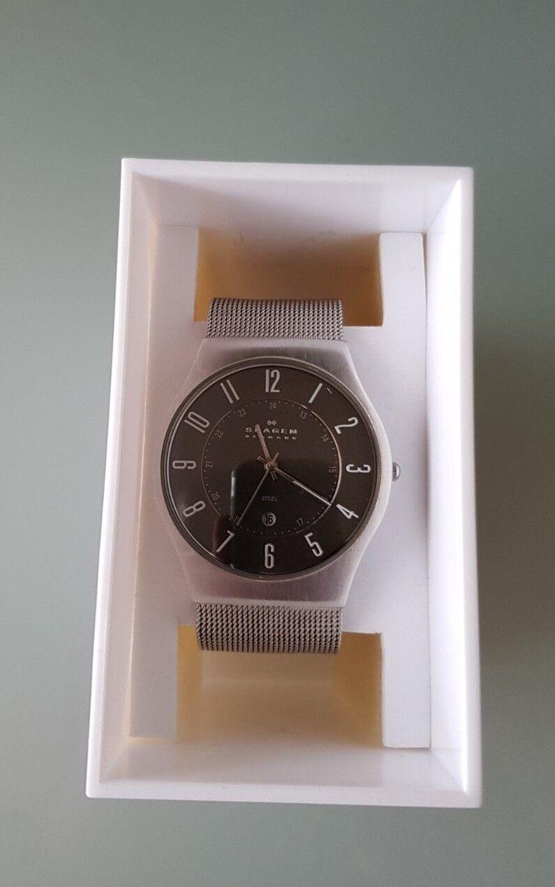 Skagen Design Herren Armbanduhr(233XLSSM)