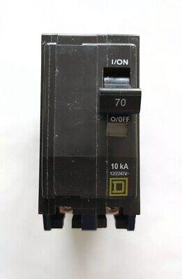Square D Qo270 2-pole 70-amp 120240v Plug-in Circuit Breaker