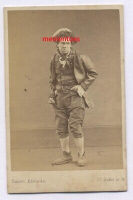 CDV c1874 Actor Theatre John Toole (1830-1906) Gilbert & Sullivan