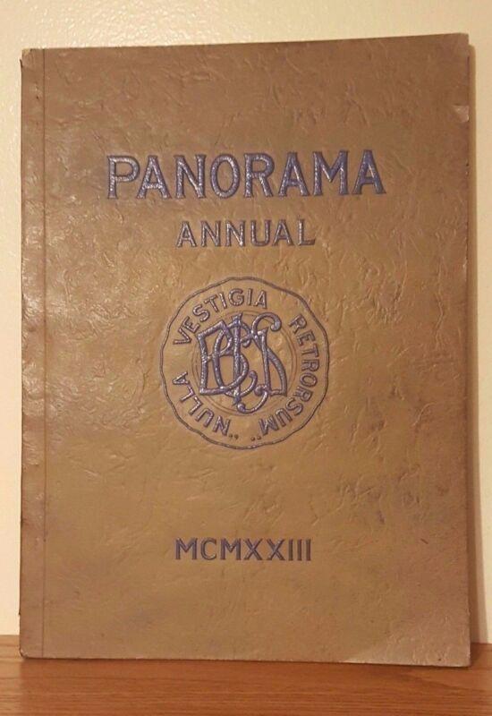 1923 Panorama Annual Yearbook Binghamton Central High School New York