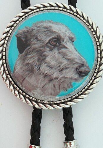 Scottish Deerhound Dog Classic Bolo Tie
