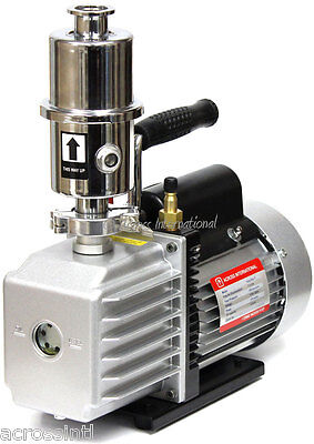Ai Easyvac 7 Cfm Vacuum Pump W Exhaust Filter For Vo Chamber Vacuum Purge Oven