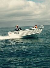 445 Stacer  side console 40 hp tiller Eli Waters Fraser Coast Preview