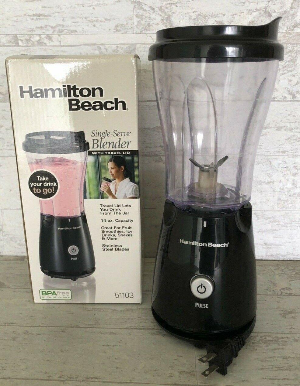 Hamilton Beach 51103 Table Top Blender - 175 W - 14 fl oz -