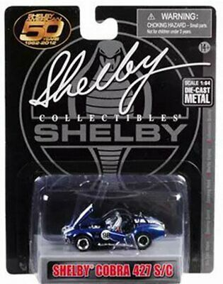 SHELBY COBRA 427 S//C Hot Wheels 2007 Code Car Series Convertible 1:64 Scale Collectible Die Cast Car Model #97