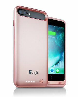 Surgit Protective Battery Pack Case for iPhone 8+ and iPhone...
