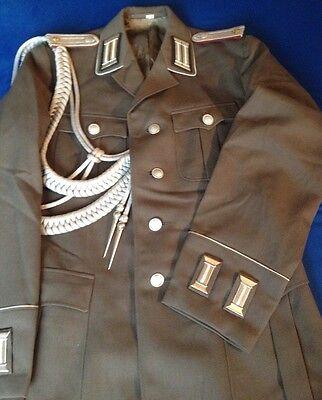 NVA Uniform Offizier mit Reithose, Ärmelpatten, Achselschnur Rarität  Größe G44