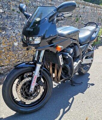 2000 Black Yamaha Fazer 600cc Ex training bike