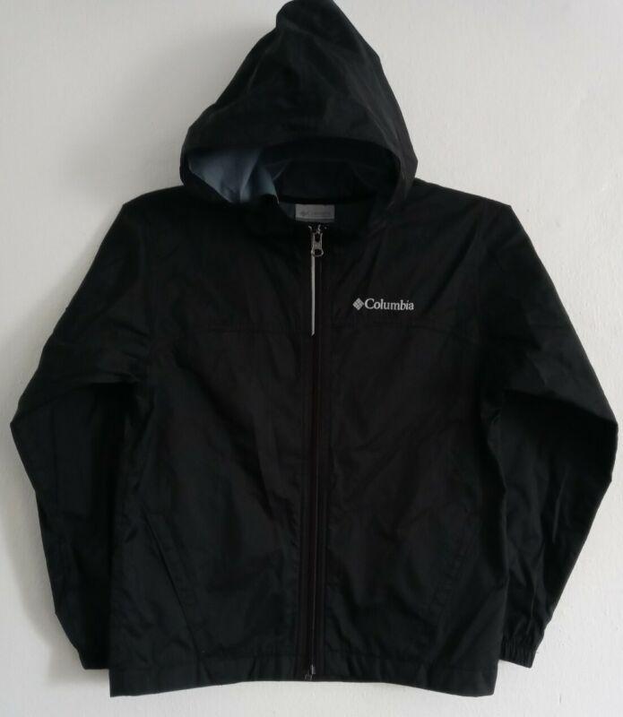 Nike Youth Windbreaker Lightweight Jacket Size 8/Small Black