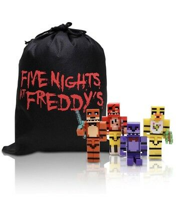 Minecraft Five Nights At Freddys 4 Fnaf Action Figures W Bag    Free Shipping