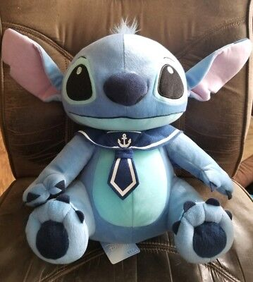 Disney Lilo &Stitch, Stitch as a Sailor Plush, New W/ Tags