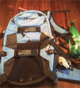 Drop brand backpack can carry skateboard, snowboard