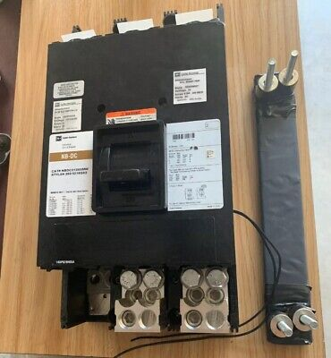 Cutler Hammer Nbdc31200mw 1200 Amp 600 Vdc Breaker Used Pulled From Working Box