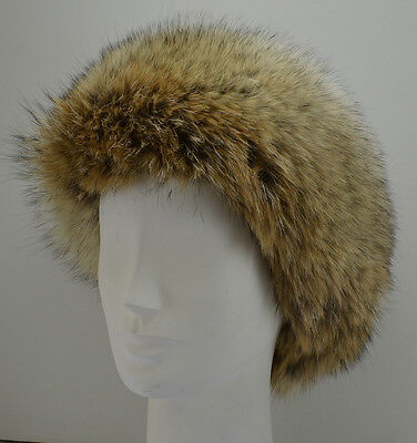 Coyote Fur Headband (Real Coyote Fur Headband  New (made in the U.S.A.) )