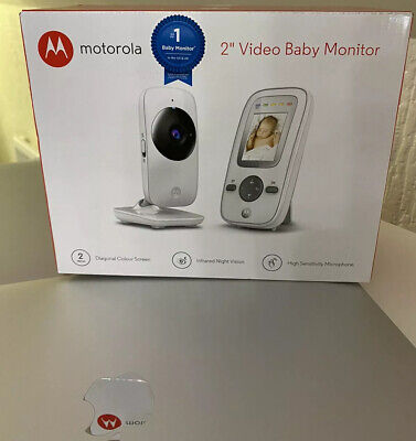 "MOTOROLA MBP481 Digital Video Baby Safety Camera Wireless Monitor 2"" LCD Display"