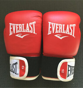 Everlast advanced 12 oz leather boxing gloves Landsdale Wanneroo Area Preview