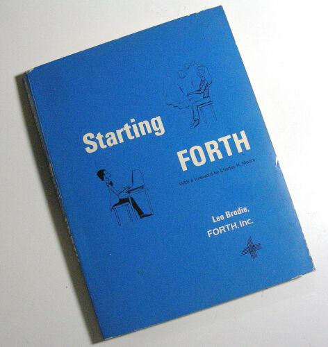 STARTING FORTH , COMPUTER LANGUAGE BOOK