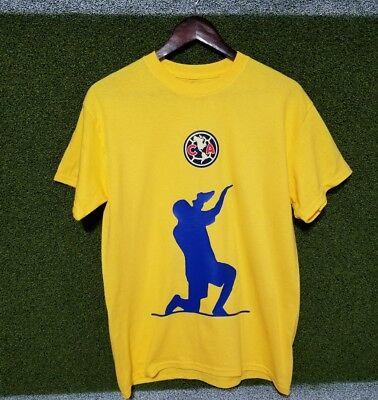 9a40776a324 t-shirt Club America Retro C. Blanco  10 Size S M L XL