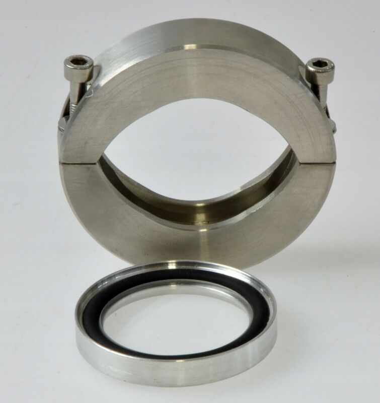 Sight Glass Very High Vacuum Iso Kf40 / # T L7b 3700