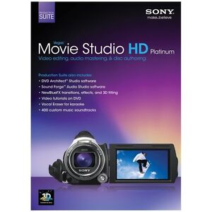Sony Vegas Movie Studio HD Platinum 11 Production Suite Full Windows Version