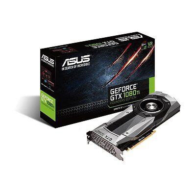 Asus GTX1080TI-FE GeForce GTX 1080 TI 11GB GDDR5X Founders Edition Graphics Card