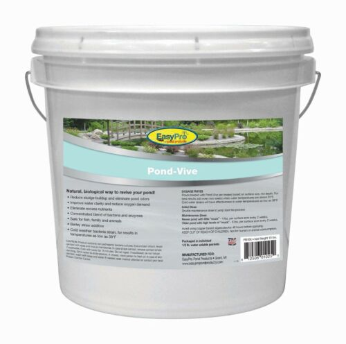 10 lb Pond Vive by EasyPro (20 x 8 oz packets) natural pond & lake algae control