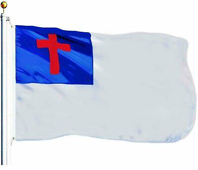 Christian Religious Flag Polyester 3×5 ft In Door and Out Door Décor