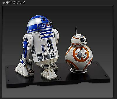 Star Wars Bb 8   R2 D2 1 12 Scale Model Kit From Japan   1226