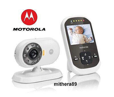 Motorola MBP25 Digital LCD COLOUR Video Sound BABY MONITOR CCTV Camera DECT VGC