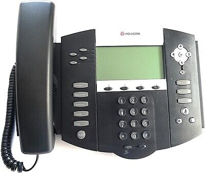 Polycom Soundpoint Ip 550 Voip Desktop Phone 2200-12550-025.