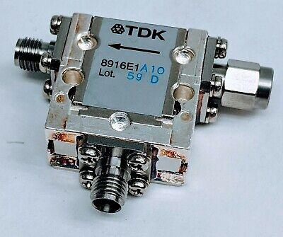 Tdk 8916e1 4.5-6.8ghz Sma Rf C-band Coaxial Isolator Circulator Microwave Radio
