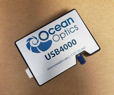 Ocean Optics Spectrometer Model Usb4000-fl Bandwidth 351-1035 Nm