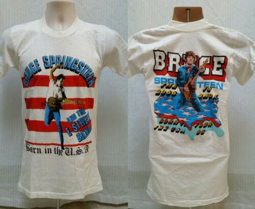 Authentic VTG 1985 BRUCE SPRINGSTEEN T Shirt Born In The USA Tour - Size XS/S