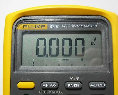 Fluke 83v 87v Repair Kit For Faded Lcd Display Digits All Series 5 Dmm