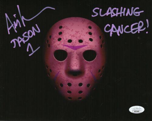 CANCER AWARENESS Ari Lehman Autograph Signed 8x10 Photo-Friday the 13th(JSA COA)