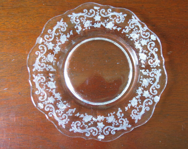 "Cambridge Chantilly 8"" Lunch/ Salad Plate(s)"