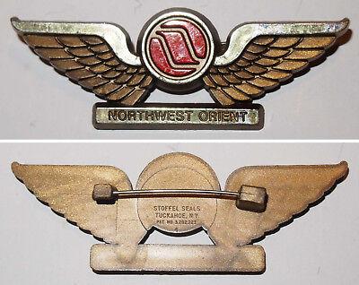 Bordpersonal Abzeichen Northwest Orient Airlines